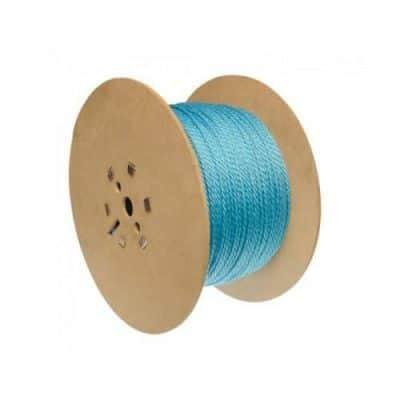 Blue draw cord