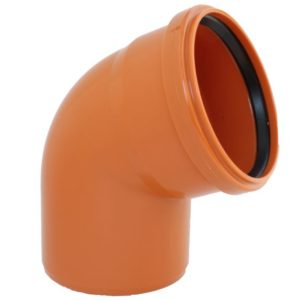 Underground Drainage Single Socket 45 Degree Bend