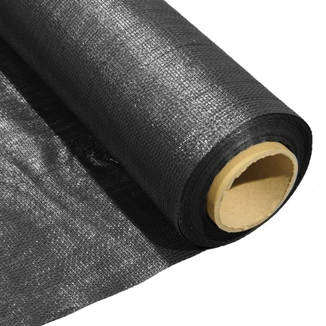 Black Woven Geotextile Membrane - Custom Sizes