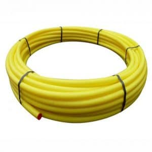 Yellow Gas Mains Pipe Coils MDPE