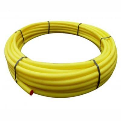 Yellow gas mains MDPE