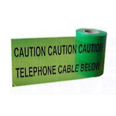 telephone caution marker tape