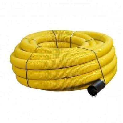 twin wall ducting yellow gas