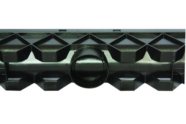 plastic channel drain 1m long for domestic use