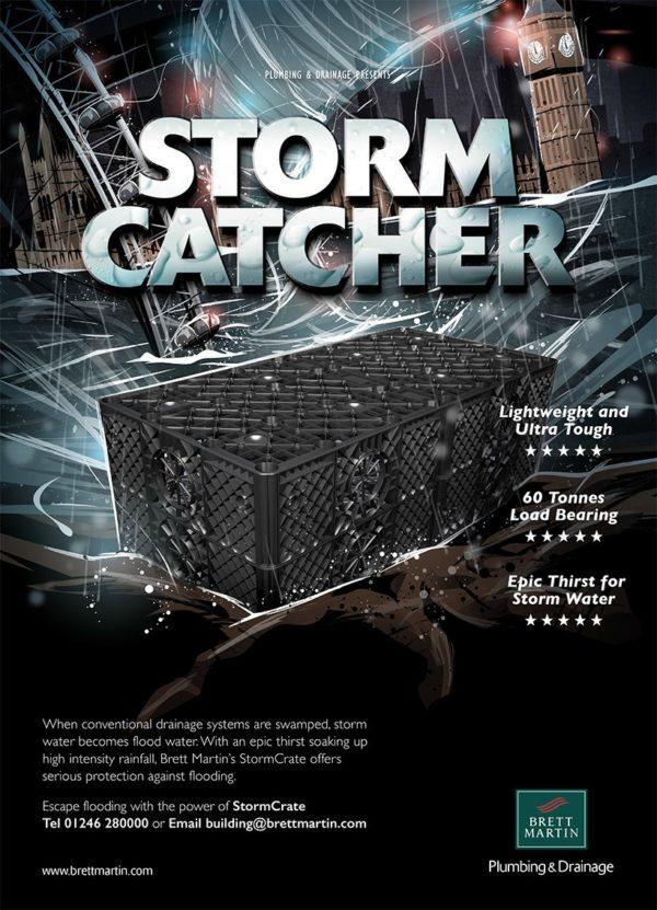 brett martin stormcrate soakaway crate flyer