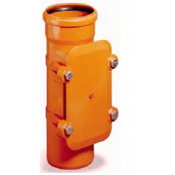110mm Access Pipe With Locking Plate