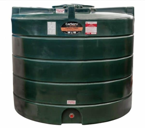 2500V Single Skin carbery fuel tank
