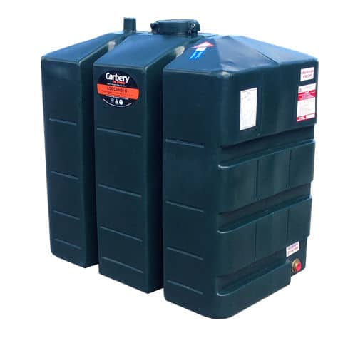 carbery single skin oil fuel tank 650l
