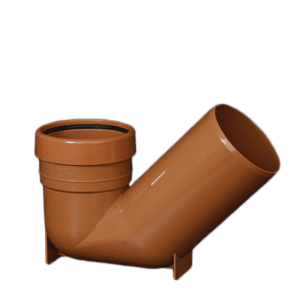 picture of a 110mm underground drainage gully trap