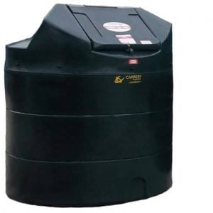 carbery bunded oil tank vertical 1350l