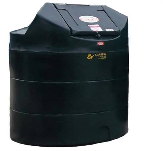 carbery bunded oil tank vertical 1350l