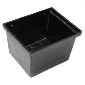65mm Cast Iron Rectangular Hopper