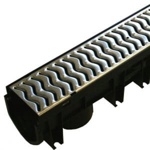fexseal stormdrain plus galvanised channel drainage