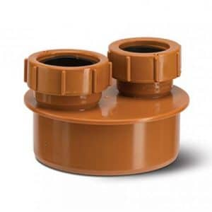 underground waste adaptor 32mm 40mm