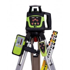 IMEX 77R Rotary Laser Level With Red Beam - FULL KIT