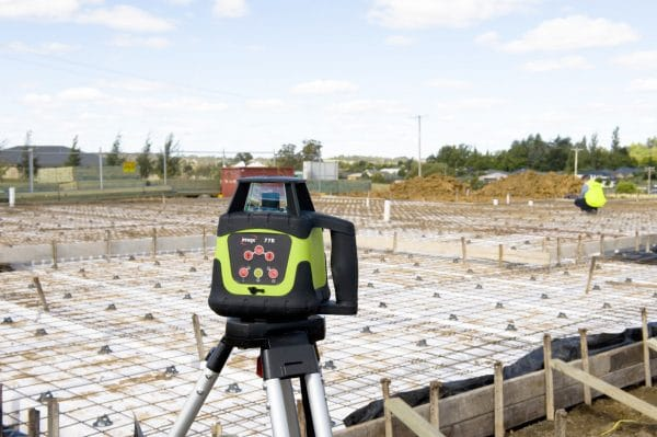 Imex 88R Rotary Laser Level With Red Beam - FULL KIT image 1