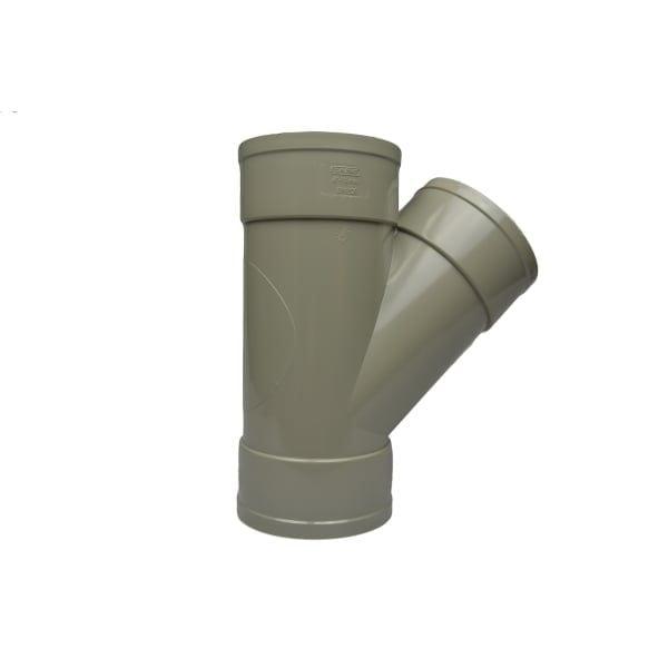 110mm Solvent Soil 135 Degree Triple Socket Junction