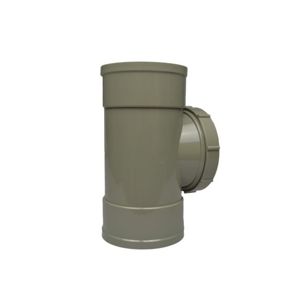 110mm Solvent Soil Double Socket Access Pipe
