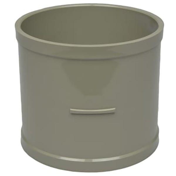 110mm Solvent Soil Double Socket Coupler