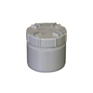 Picture of 110mm Solvent Soil Screwed Access Cap Spigot Tail
