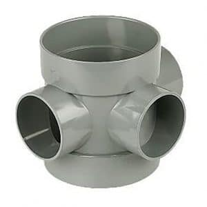 110mm Solvent Soil Short Boss Pipe