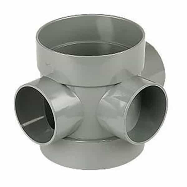 110mm Solvent Soil Short Boss Pipe