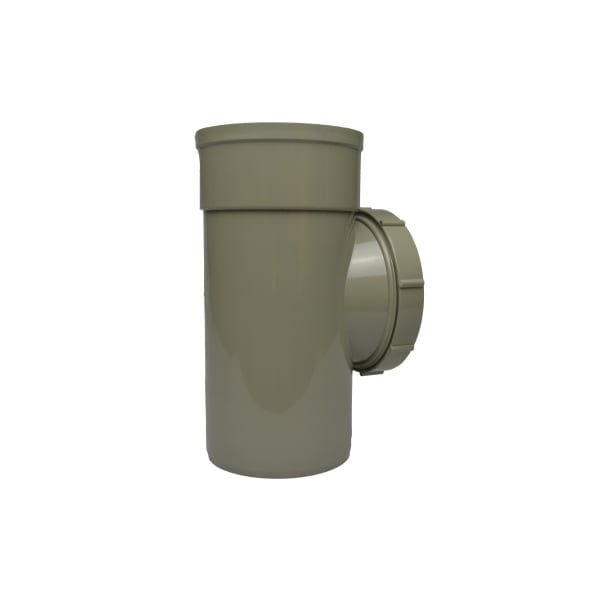 110mm Solvent Soil Single Socket Access Pipe