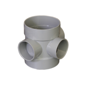 Picture of 110mm Solvent Weld Soil Short Boss Pipe Grey