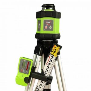 Picture of Imex E60 Rotary Laser Level With Red Beam - FULL KIT