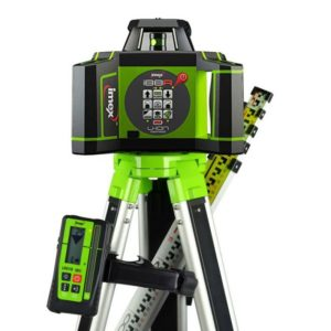 Picture of Imex i88RG Rotary Laser Level With Red Beam - FULL KIT