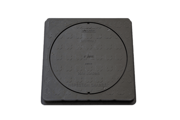 picture of a square to round manhole cover