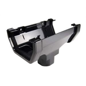 114mm Square Line Guttering Running Outlet