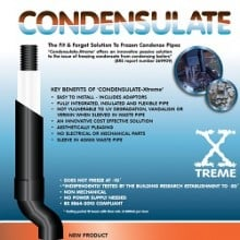condensulate xtreme pipe insulation