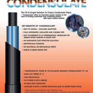 Condensulate Pipe Insulation