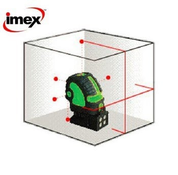 IMEX Line and dot laser level