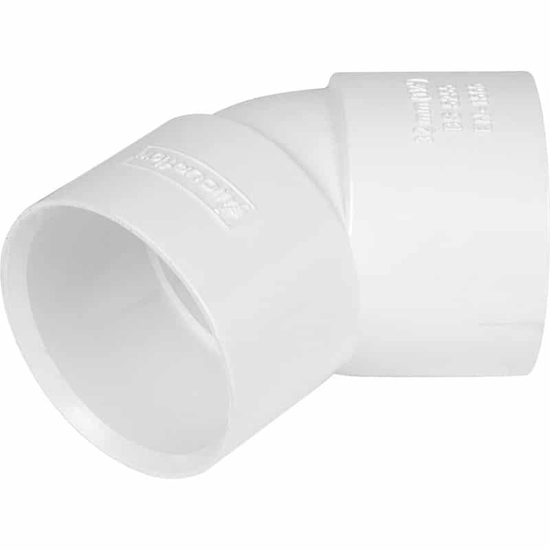Solvent Waste 45 Degree Obtuse Bend 32/40/50mm