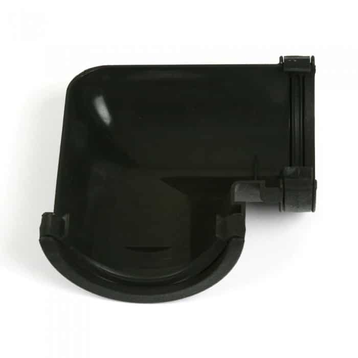 Buy 112mm Cascade Cast Iron Effect Half Round 90 Degree