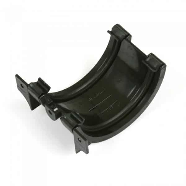 112mm Cascade Cast Iron Effect Half Round Union Bracket
