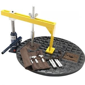 manhole cover lifting key set