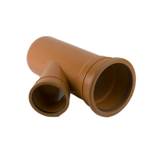 picture of 160-110mm-underground-drainage-double-socket-Y-reducing-junction