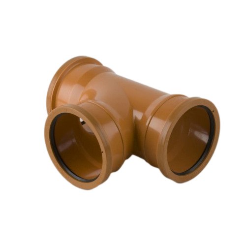 picture of 160mm-underground-drainage-triple-socket-t-junction