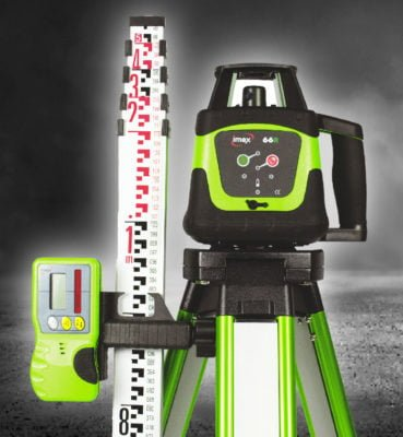 Picture of the IMEX Laser Level 66R-Kit for use on the blog post - best laser level on EasyMerchant