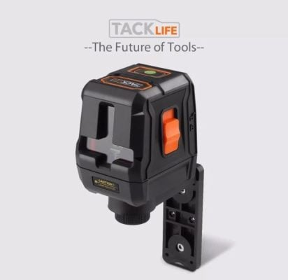 Picture of the Tacklife SC-L07G Green Cross-Line laser for use on the blog post - best laser level on EasyMerchant