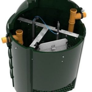 image of Harlequin CAP6 Compact Sewage Treatment Plant 2