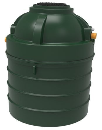 PICTURE OF Harlequin CAP6 Compact Sewage Treatment Plant