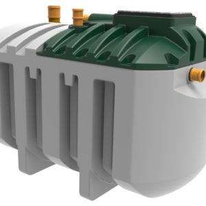 Product picture of harlequin hydroclear6 sewage treatment plant
