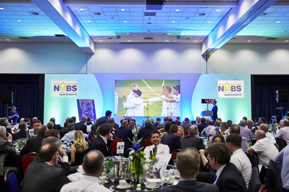Picture of the NMBS drainage and building products gala dinner with industry leaders