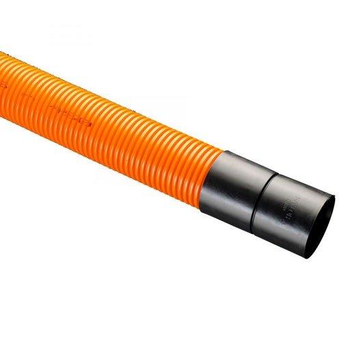 Orange Twinwall Street Lighting Duct Pipes 6m
