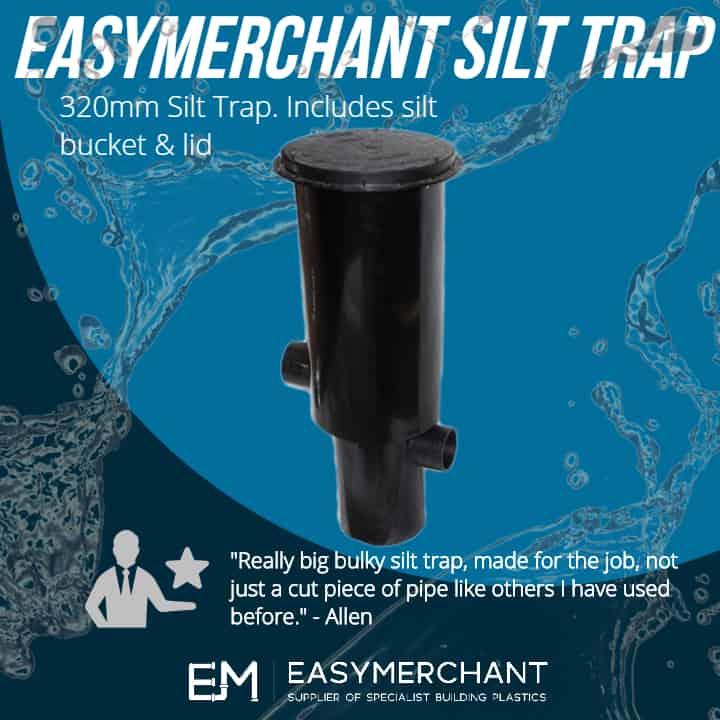 Silt Trap 320mm Inc Bucket & Lid