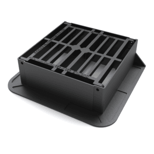 product picture D400 Traffic Flow Hinged Ductile Iron Gully Grate & Frame